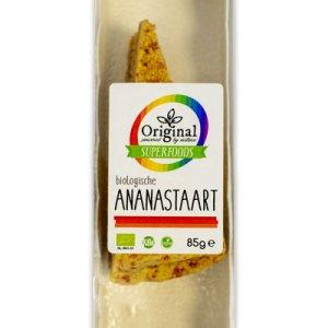 Original Superfoods Biologische Ananastaart 85 Gram