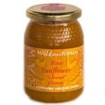 Wild About Honey Rauwe Zonnebloem Girassol Honing 500 Gram