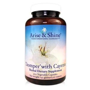 Arise & Shine Chomper with Cayenne 300 V-Caps