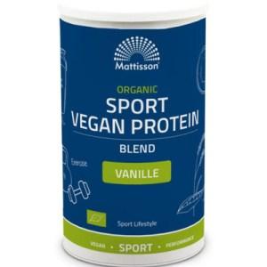 Mattisson Organic Sport Vegan Protein Blend Vanille (500g) gezond?