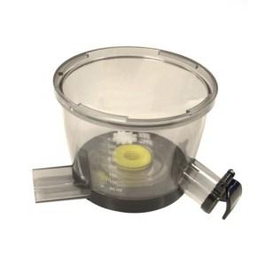 Omega VRT382 Bowl Assembly w/Juice and Pulp Spout - Persvat voor Sap en Pulp-Uitloop