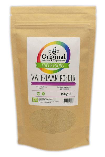 Original Superfoods Valeriaan Extract Poeder 150 gram