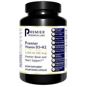 PRL Vitamin D3+K2 30 V-Caps