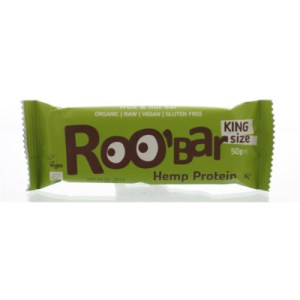 Roo Bar Hemp Proteine Bar Bio (50g) gezond?