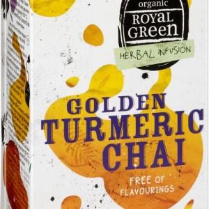 Royal Green Biologische Golden Turmeric Chai Thee 16 Zakjes