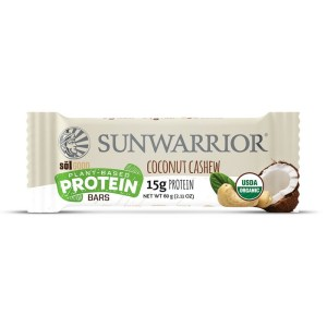 Sunwarrior Sol Good Biologische Proteine Bar Coconut Cashew 60 Gram