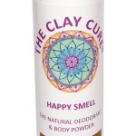 The Clay Cure Happy Smell Natural Deodorant & Body Powder Frankincense 75 Gram