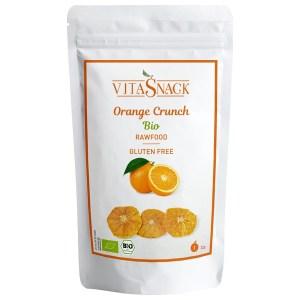 VitaSnack Organic Orange Crunch 22 gram