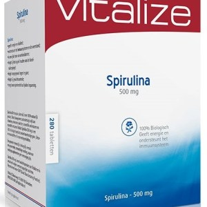 Vitalize Spirulina 500 mg Tabletten 280st gezond?