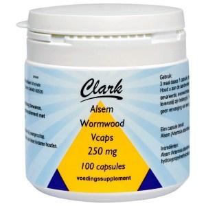 Clark Alsem Wormwood 100 V-Caps 250 mg