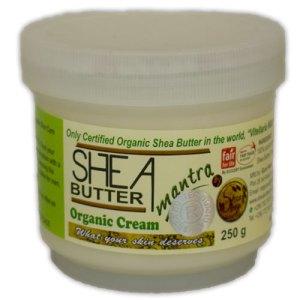 Shea Shop Biologische Shea Butter Cream 250 Gram