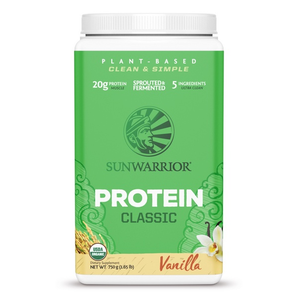 Sunwarrior Classic Proteïne Vanille 750 Gram