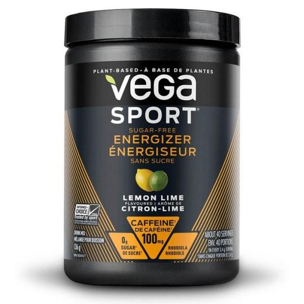Vega Sport Sugar-Free Energizer Lemon Lime 136 Gram