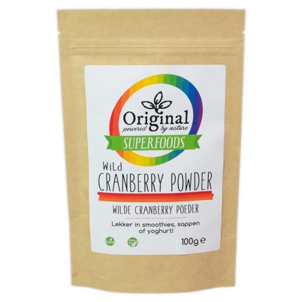 Original Superfoods Wild Cranberry Poeder 100 Gram