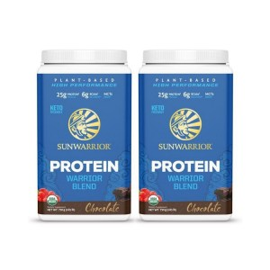 Sunwarrior Warrior Blend Biologische Proteïne Chocolade Duo 750 Gram