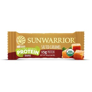 Sunwarrior Sol Good Biologische Proteine Bar Salted Caramel 58 Gram