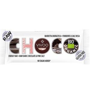 Vivoo Biologische Choco Energy Fruit Bar 35 Gram