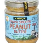 Carley's Biologische Peanut Butter Smooth 250 Gram