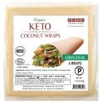 Pure Traditions Biologische Keto Coconut Wraps Original 4 Stuks