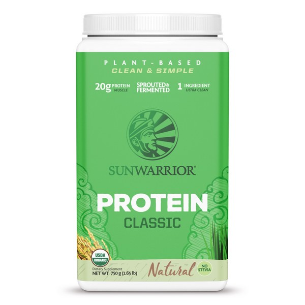 Sunwarrior Biologische Classic Proteïne Naturel 750 Gram