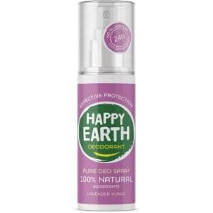 Happy Earth Deodorant Spray Lavender Ylang 100 ml