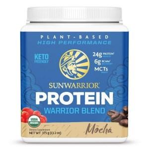 SunWarrior Blend Biologische Proteïne Mokka - 375 gram gezond?