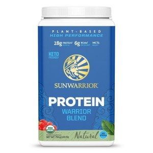SunWarrior Blend Biologische Proteïne Naturel - 750 gram gezond?
