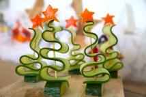komkommer kerstboom 1