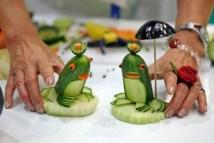 komkommer kikker