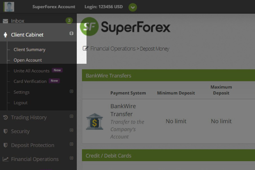superforex-account-verification-validation-client-cabinet
