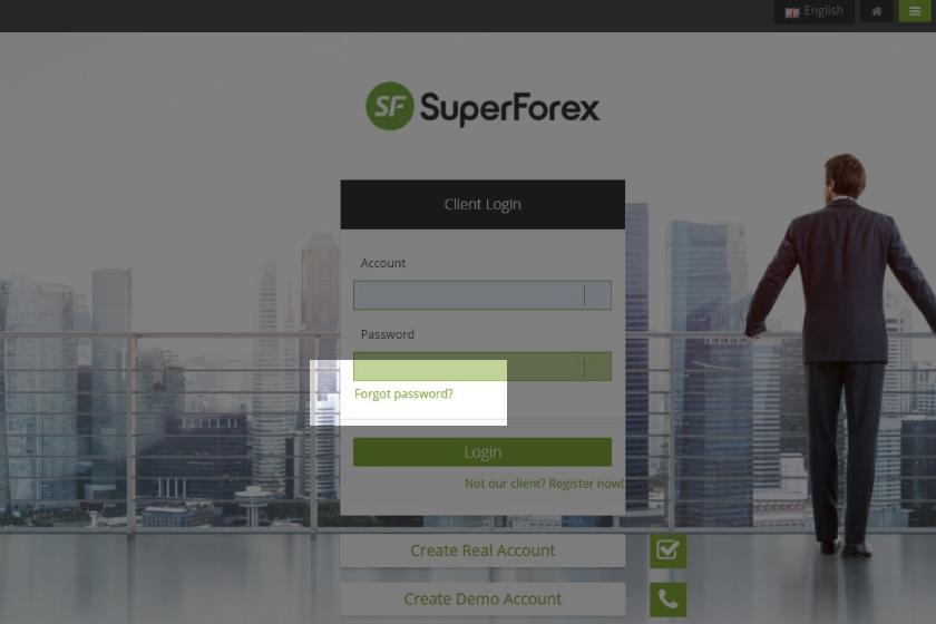 superforex-client-portal-cabinet-forgot-password