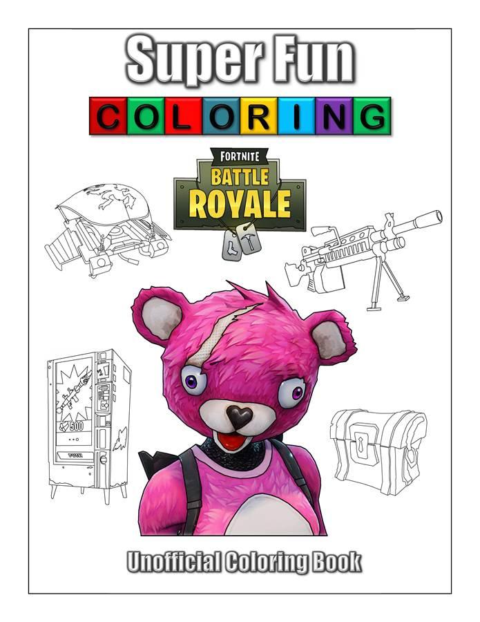 Fortnite Skins Super Fun Coloring