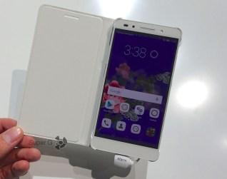 Белый чехол с откидывающимся флипом для Huawei Honor 7
