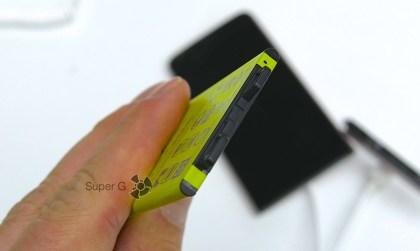 Крепление аккумулятора LG G5