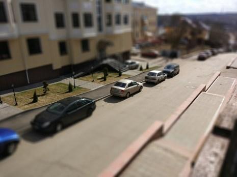 Пример фотографии сделанной в режиме Tilt-shift (2)