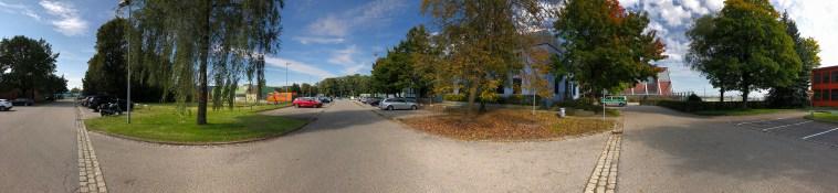 Пример панорамы с камеры iPhone 8