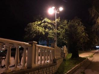 Пример ночного фото с камеры iPhone 8
