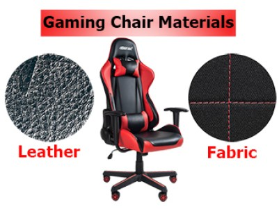 Image result for PC gaming chair materials