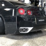 Nissan Skyline Gtr R35 Painted Black 1 10 Body Set Tamiya 51340 Super G R C Drift Arena Home