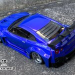 Nissan Skyline R35 Liberty Walk Lb Works Silhouette 1 10 Body Set Tetsujin Super G R C Drift Arena Home