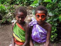 Visiting a tribe on Tanna island on the first day of the year