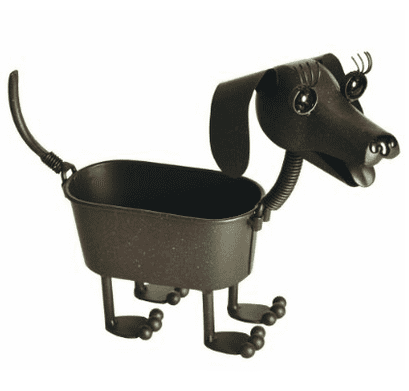 Georgetown Home and Garden Mini Dachshund Planter