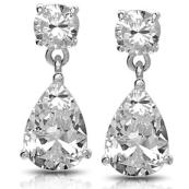 O Pear Shaped Earrings