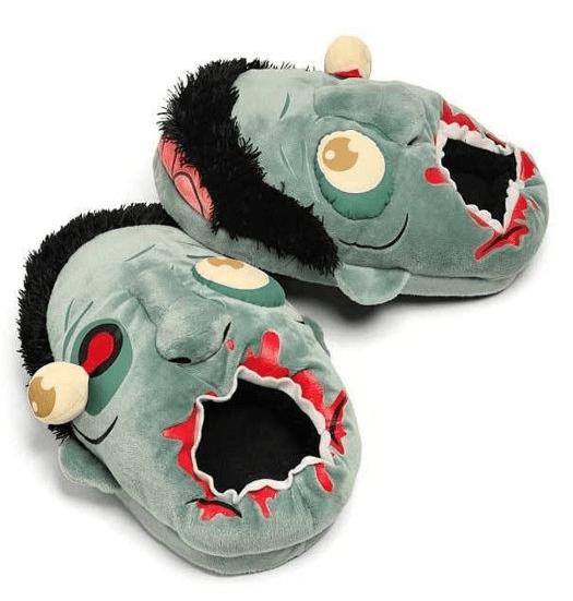 zombie-plush-slippers