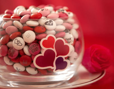 MM's Customized Valentines Day Candy