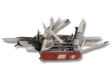 Victorinox® SwissChamp® XAVT Translucent Ruby