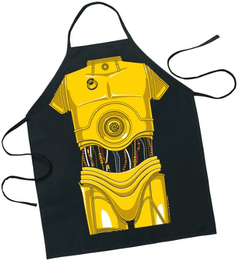 Star Wars C 3PO Character Apron