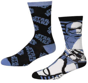 Star Wars Force Awakens Stormtrooper Crew Socks