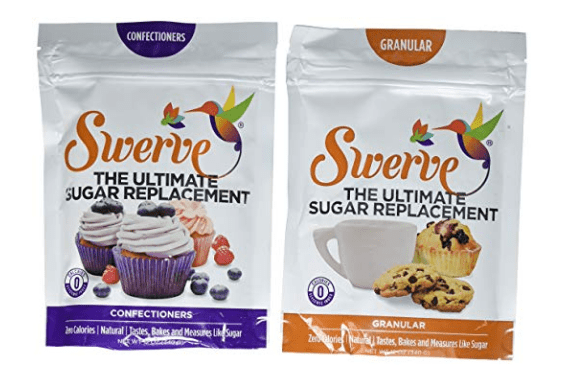 Swerve Sweetener Duo For Low Carb Diet