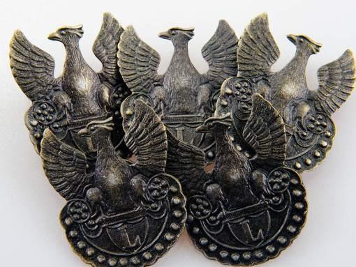 Orzełek Legionów Polskich 1914-1917 na metalową śrubę